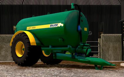 Major LGP 2050 Mod for Farming Simulator 15