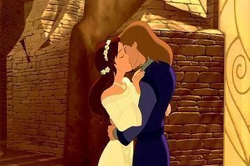 Kayley and Garrett from Quest for Camelot, Warner Brothers