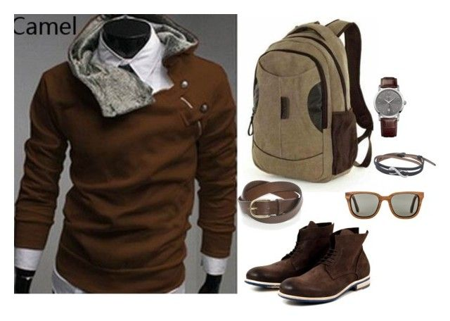 Cool Outfit by geekhoodies on Polyvore featuring Moyyi, HUGO, Shwood, BOSS Orange, outfit, Geek, jacket and menswear