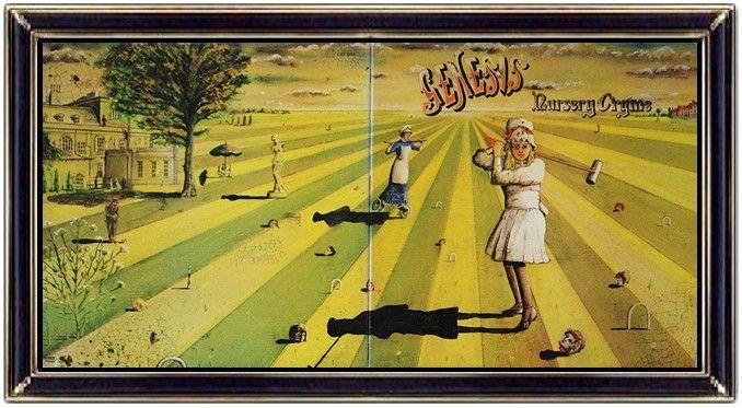 ♫ Genesis - Nursery Cryme (1971) - Album Art: Paul Whitehead - https://www.selected4u.net/caa/genesis/nurserycryme/play.html