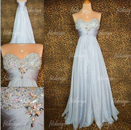 silver+prom+dress+long+prom+dress+sweetheart+prom+by+fitdesign,+$132.00