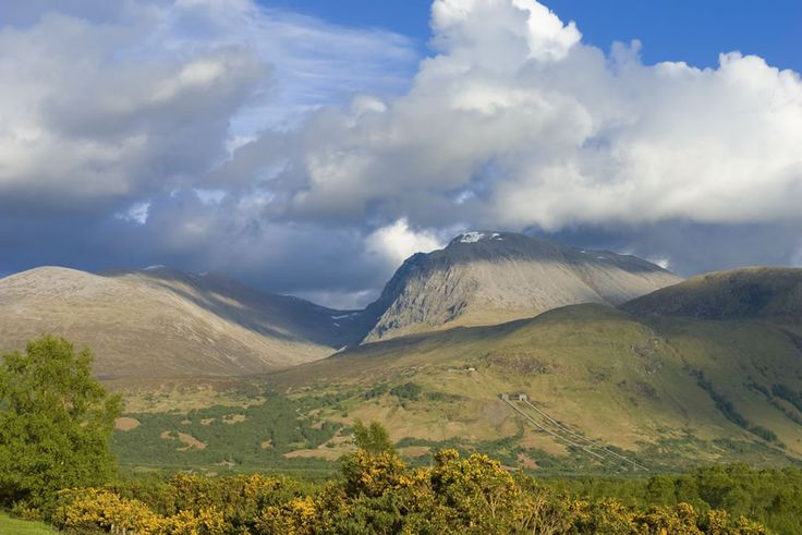 Ben Nevis in Scotland. If you ever get a chance to climb Ben Nevis please do it. It's amazing and awesome.