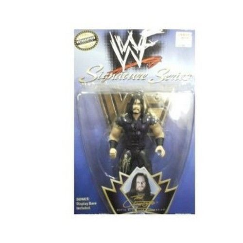 Up for purchase is a 1998 WWF The Undertaker Signature Series 2 action figure by Jakks Pacific. This WWF The Undertaker action figure comes new in box and is an officially licensed WWF product. - The