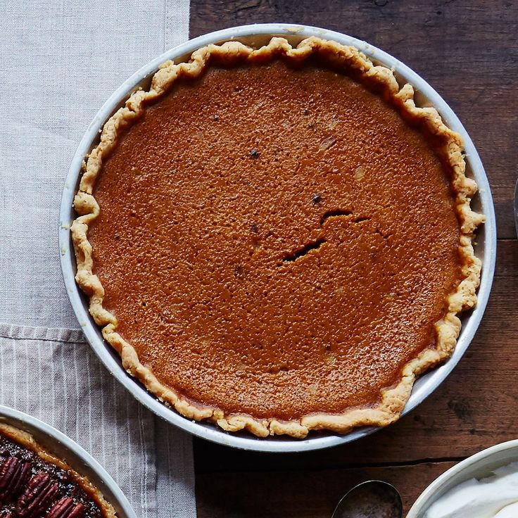 James Beard's Rich Pumpkin Pie recipe on Food52