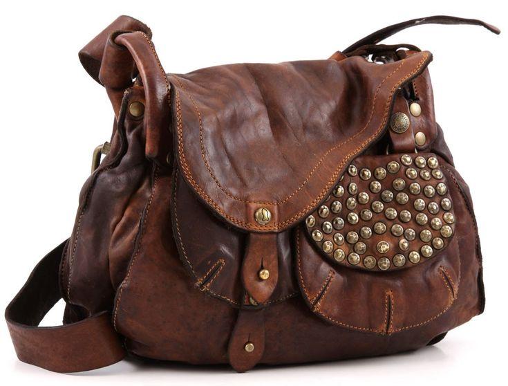 Campomaggi Lavata Shoulder Bag Leather Cognac 64