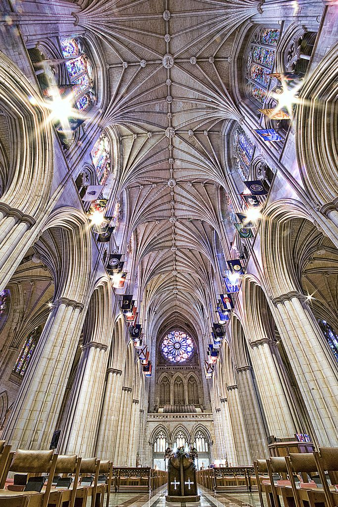 Washington National Cathedral, USA.