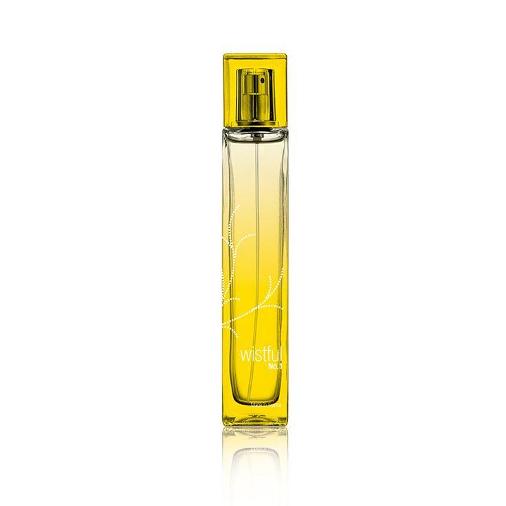 Bestellnummer: 119001. WISTFUL™ No. 1 für Frauen. Ein harmonischer Duft für Ihre ganz besonderen Momente. Ein sinnlicher, harmonischer Duft mit frischen Noten von Granatäpfeln, Mandarinen, Freesien und zarten Lotusblüten. Dieser Duft hinterlässt ein Gefühl von Wärme und Zufriedenheit.