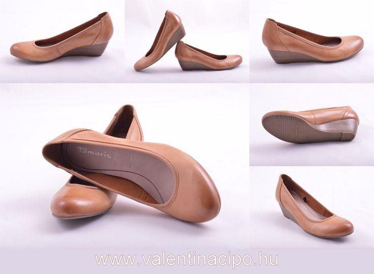A Tamaris éksarkú cipő tulajdonosa számára, extra kényelmet biztosít a puha membrános lábágy és segíti a talpához valló illeszkedésben. http://www.valentinacipo.hu/22320-22-328