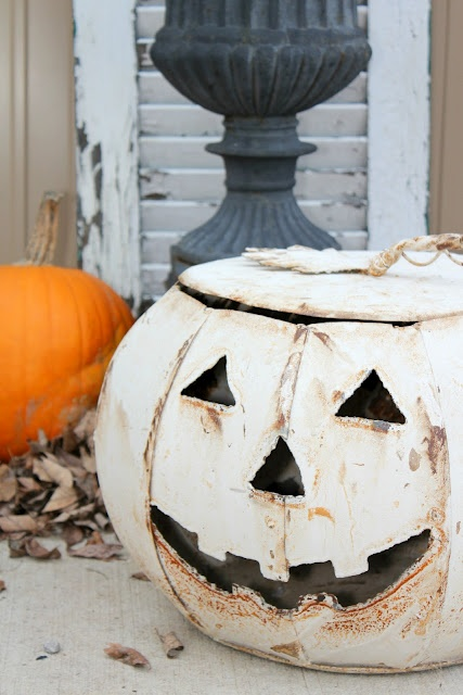 17 Best Ideas About Metal Pumpkins On Pinterest
