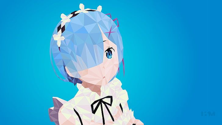 Re: Zero Kara Hajimeru Isekai Seikatsu, anime girls, Rem (Re: Zero) HD wallpaper