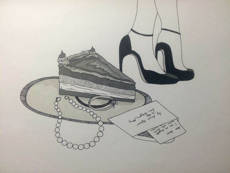 Inspired by New York cheesecake, love letters, high heels and jewellery.