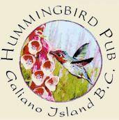 The Hummingbird Pub   Galiano Island, BC