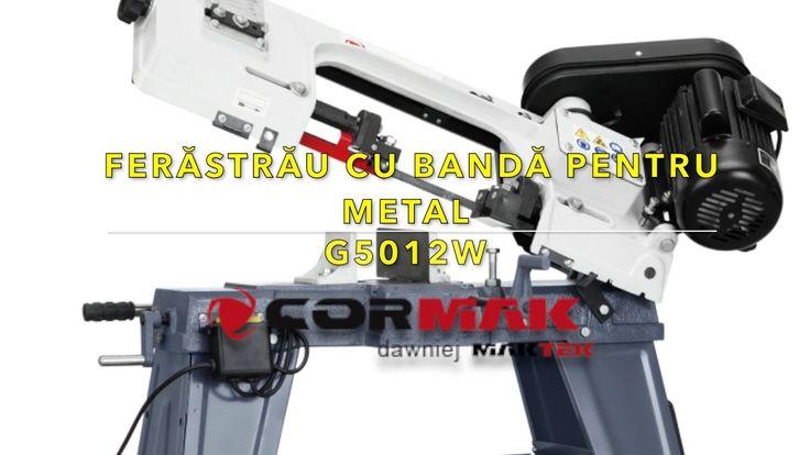 Ferastrau cu banda pentru metal CORMAK G5012W