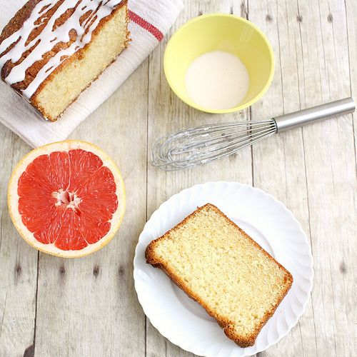 Tracey's Culinary Adventures: Glazed Grapefruit Cake. This one has the recipe.
