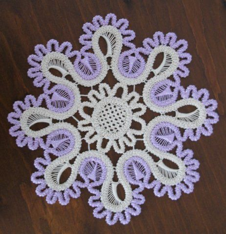 Romanian Point Lace mandala