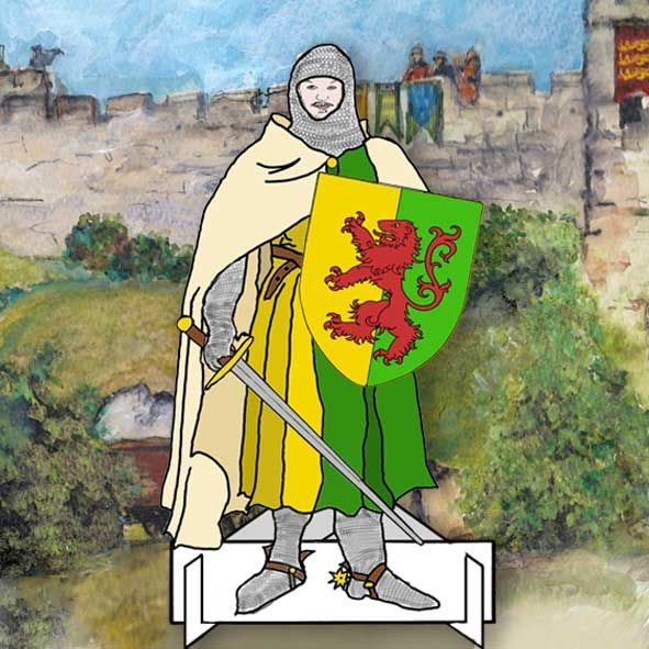 William Marshal - the Greatest Knight Battle of Lincoln Dressing Up Dolls Pack,