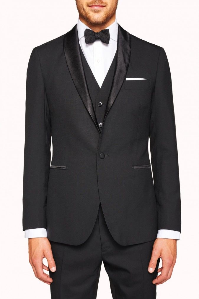 For an elegantly relaxed sartorial look the Montgomerie Tux has your formal needs covered. Available at M.J.Bale.