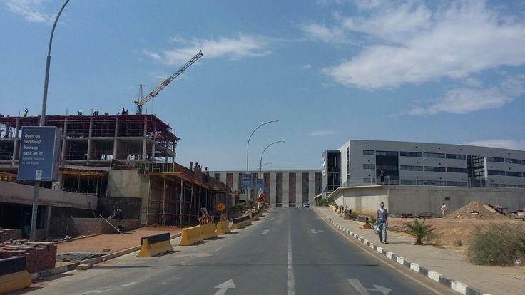 The Steps, hospital and doctors room, Namibia #architecture #namibia #frankbohmstudio