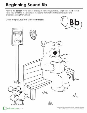 letter sounds coloring pages - photo#37