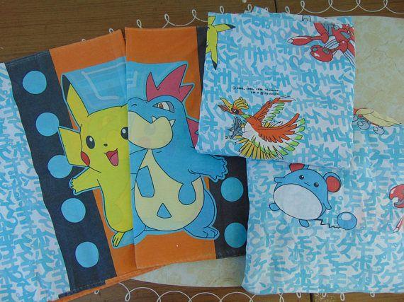 Pokemon Bed Sheet Set Pikachu Pokemon Bedroom Pokemon