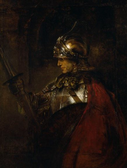 A Man In Armour - 1655 Rembrandt