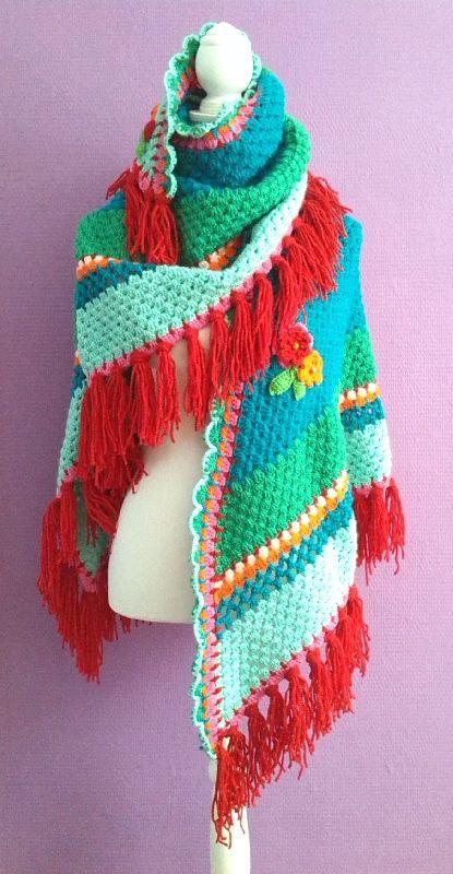 Sjaals en Omslagdoeken - www.ambela.nl