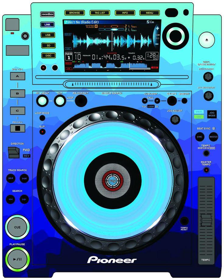 Pioneer CDJ 2000 Remix Art Contest Djs love art too and artists love music.