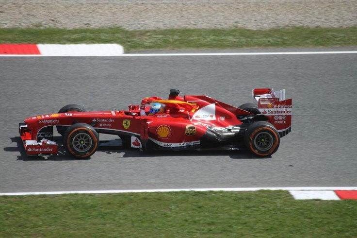 Alonso's win for Ferrari, catalunya circuit, Barcelona