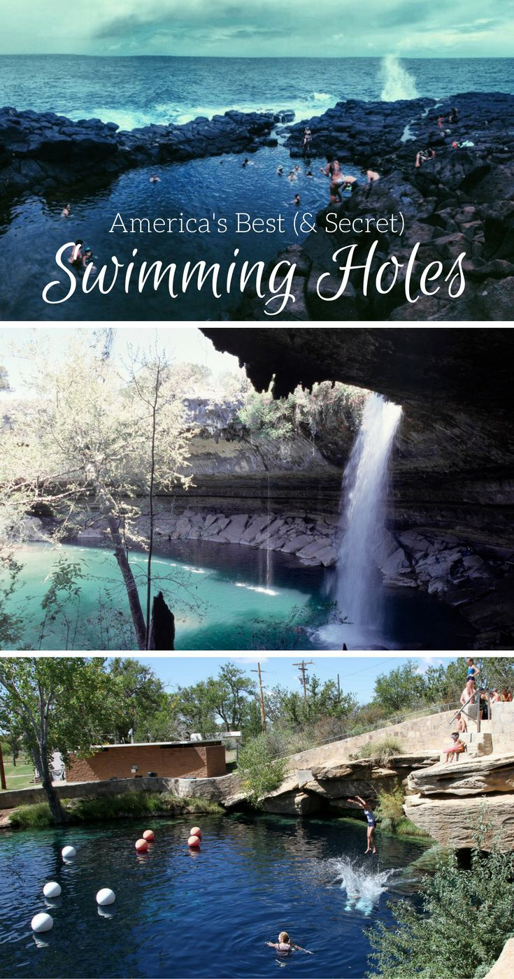 A Few of America's Best (and Secret) Swimming Holes