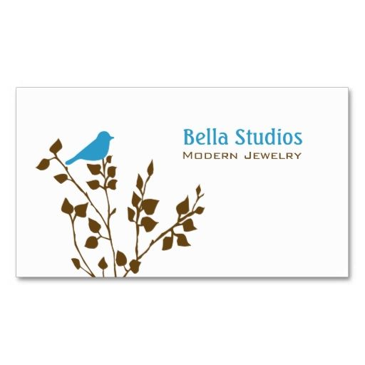 1817 best creative business card templates images on pinterest cute blue and brown bird business card colourmoves