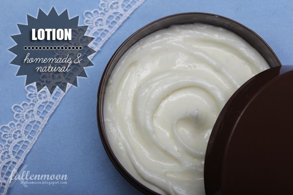 how to make homemade lotion without shea butter