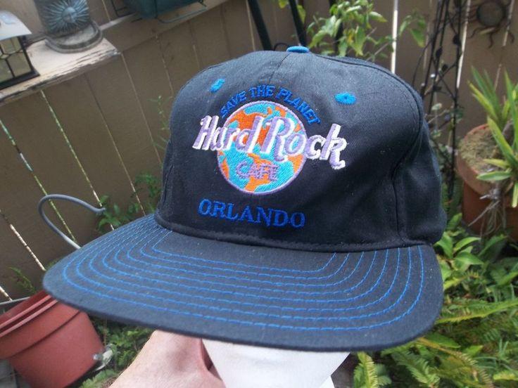 Hard Rock Cafe Orlando Cap Love All Serve All Hat - World's Largest HRC #HardRockCafe