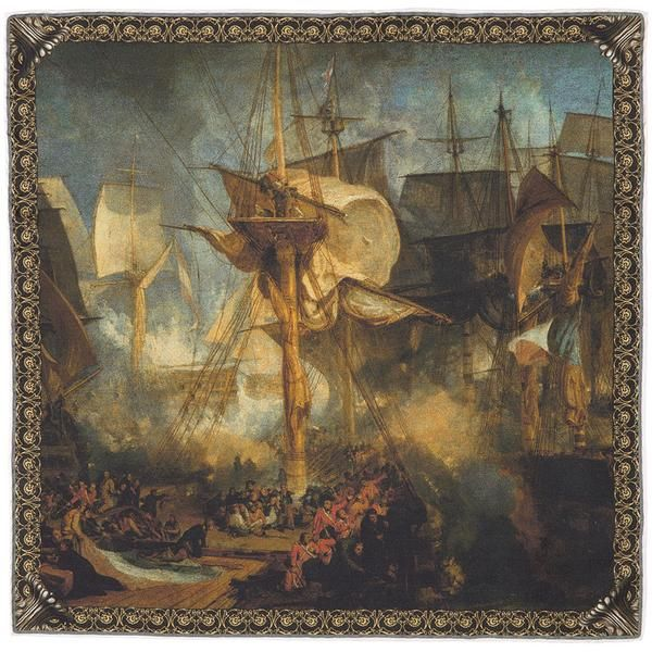 The Battle of Trafalgar, as Seen from the Mizen Starboard Shrouds of the Victory.