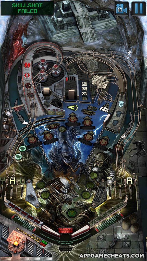 Aliens vs Pinball Cheats, Tips, & Hack for Resurrection Tokens, All Boards, & No Ads Unlock  #AliensvsPinball #Arcade #Simulation #Strategy http://appgamecheats.com/aliens-vs-pinball-cheats-tips-hack/