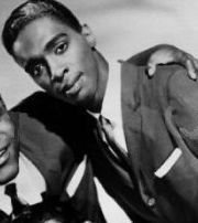 """Singer Rudy Lewis (The Drifters); sang """"Up On The Roof"""" and """"On Broadway"""""""