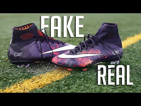 Fake vs Real Superfly - How to spot a Replica Nike Football Boot