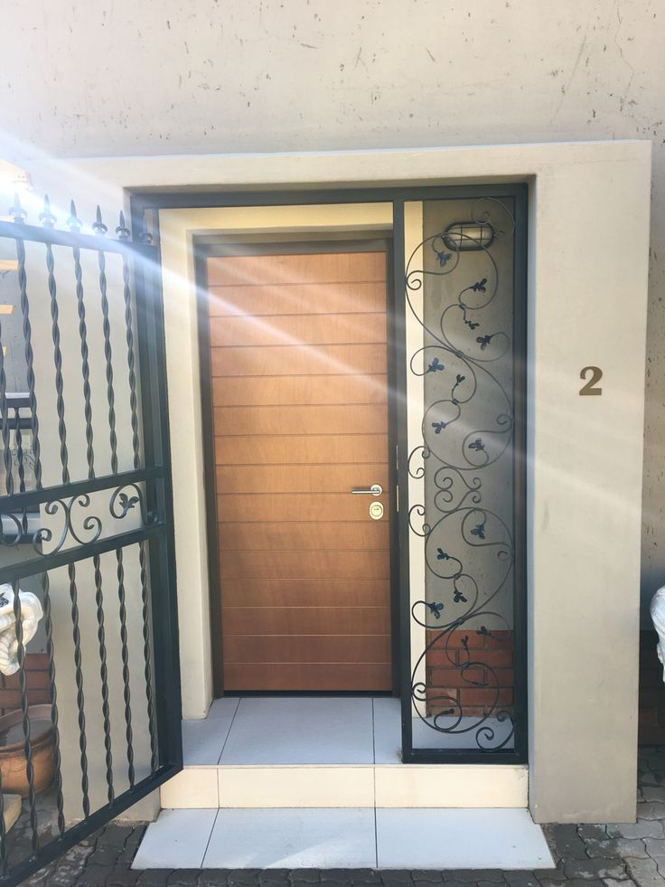 So of our clients in South Africa after installing one of our extra high security door as they entrance door would leave that old and ineffective gate in ... & 15 best Security doors South Africa images on Pinterest | South ...