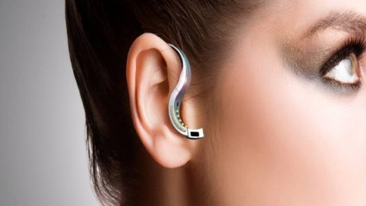 ORB in headphone mode: Bluetooth Headset, Orb Bluetooth, Gadgets, Smart Jewelry, Wearable Device, Advanced Technology, Mobiles Headset, Rings, Mobiles Phones