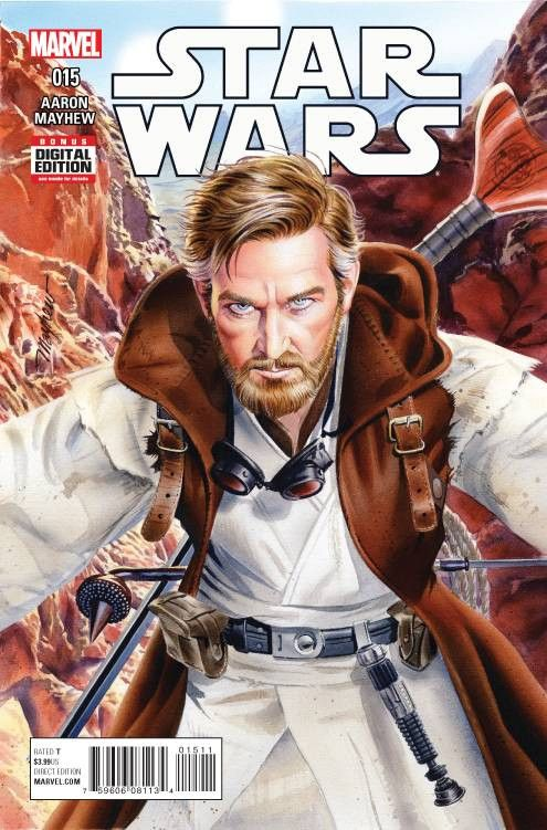 FROM THE JOURNALS OF OBI-WAN KENOBI • Another tale of Obi-Wan's exile on Tatooine! • Owen Lars took Luke in...but he refused to let Ben be part of his life. Why? • What trouble could have been stirred