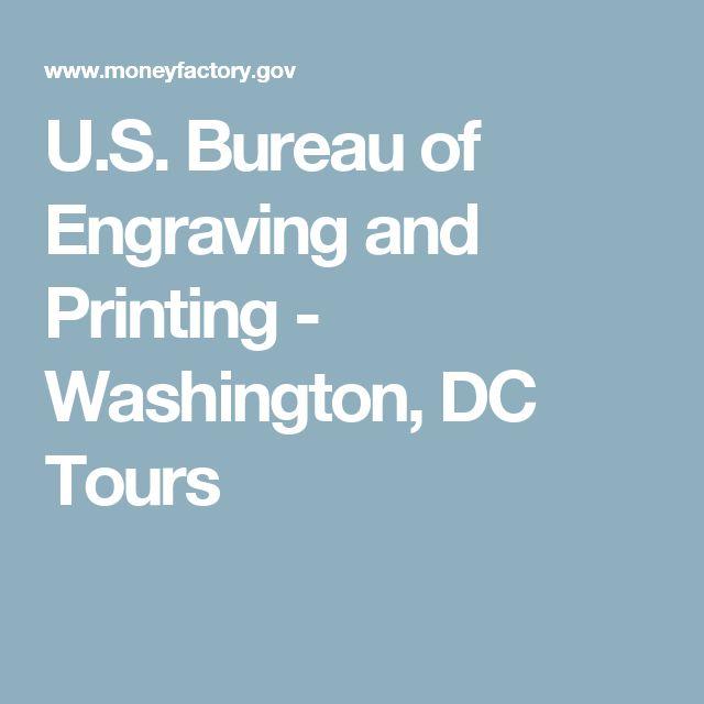 U.S. Bureau of Engraving and Printing - Washington, DC Tours