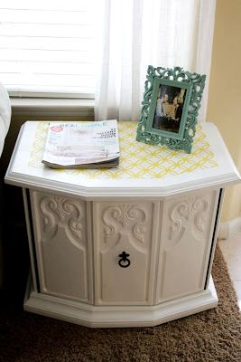 DIY: Furniture Stenciling