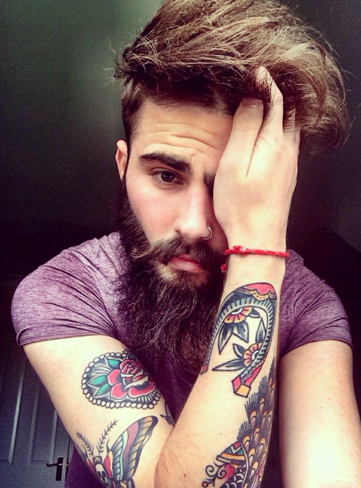 17 best images about ink addiction beards on pinterest for Red beard tattoo