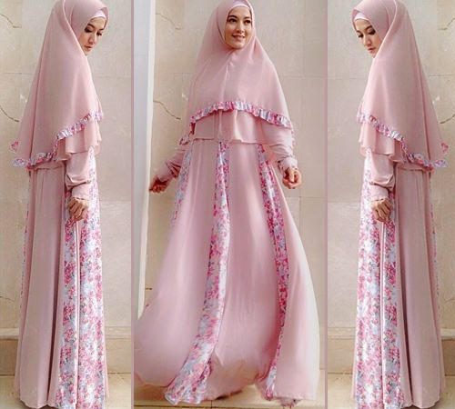 Khimar|This would make a pretty bridal outfit