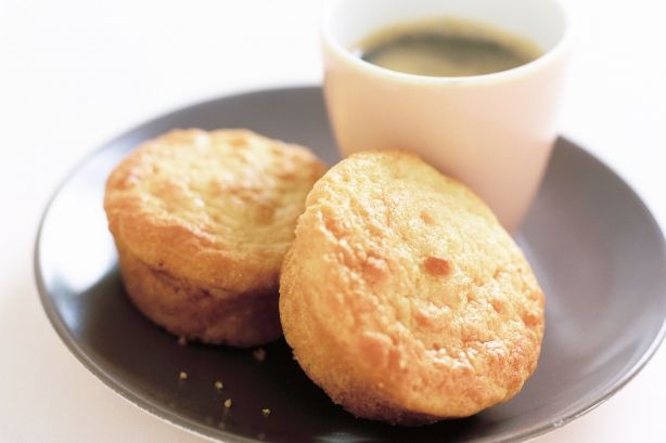 Made with apricot yoghurt and jam, these golden baked muffins are wonderfully moist and tasty.