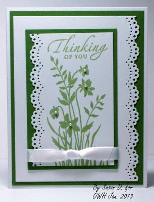 Seongsook's Creations... My Therapy, Your Cards!: More Cards for OWH Jan. 2013