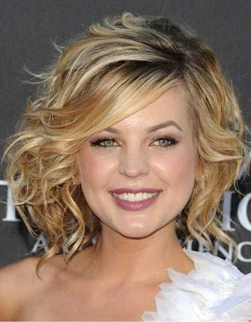 new Short Curly Hairstyles for womens 2016