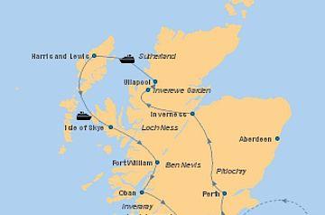 Schottland Mietwagenrundreise - Nordwestschottland und Hebriden - Mietwagen-Rundreise