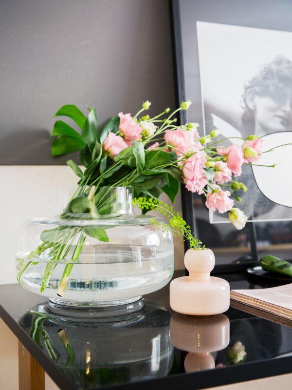 Marimekko Flower vase Soft Pink