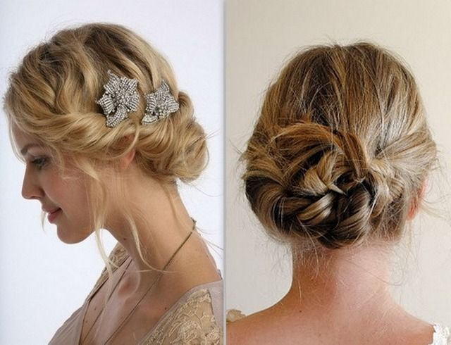Prom hair updo pinterest updo hairstyles for Recogido bob