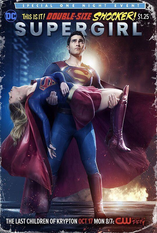 SUPERGIRL: Check Out An Awesome Comic Book-Style Poster Ahead Of Tonight's New Episode